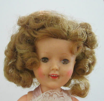 SHIRLEY TEMPLE ST-12 IDEAL DOLL w/ PINK SLIP PANTIES SHOES & SOCKS w/ BOX