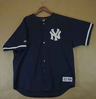 low priced 47ad5 5918d VTG 90S NEW York Yankees Jersey #51 Bernie Williams - Majestic MLB Baseball  gear