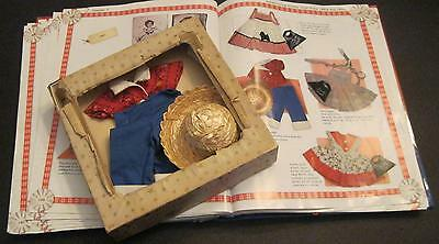 SHIRLEY TEMPLE IDEAL BLUE PANTS SHIRT AND STRAW HAT FOR  ST-12 DOLL w/ BOX