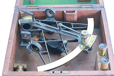 Early Lattice Framed Sextant