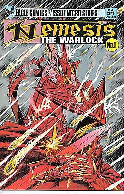 Nemesis the Warlock #1 (1984 Eagle Comics, vf 8.0) full colour, 32 pages