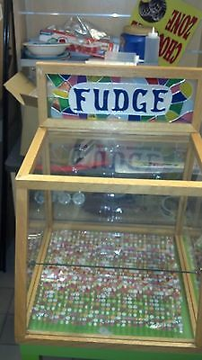 Stain Glass Fudge Display Case - Priced Reduced