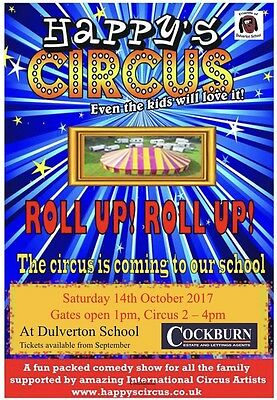 FODS Circus Tickets - 14.10.17