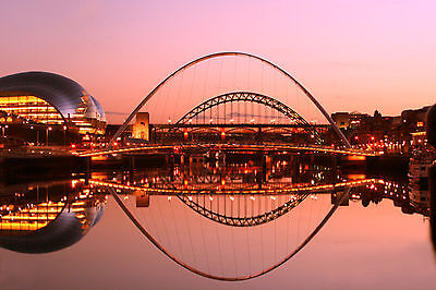 Newcastle Upon Tyne Poster A4 A3 A2 A1 Gift Present SW0307