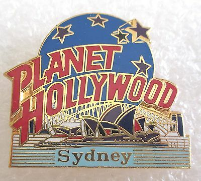 Planet Hollywood Sydney Australia Restaurant Souvenir Collector Pin