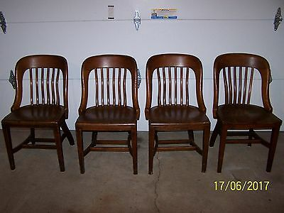 4-Vintage B.l. Marble Co. Chairs Bedford Ohio