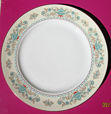 "Vintage John Aynsley Tatton Hall (2) Smooth Salad Plates  8.25"" Diameter"