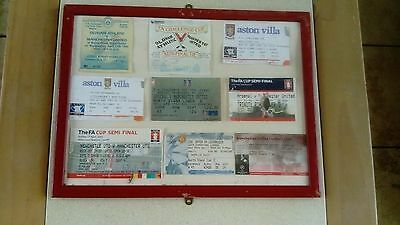 man utd ticket stubs