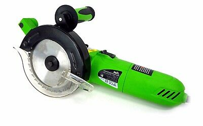 Rok Twin Blade Circular Saw 240V 900W - Dual Blade Eliminator with carry case