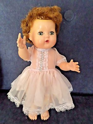"American Character ~ Tiny Tears ~ Vintage ~ 11"" ~ TLC"