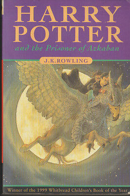 J K Rowling Harry Potter and the Prisoner of Azkaban - 1999 Whitbread Children's