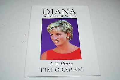 Diana Prince of Wales A Tribute Tim Graham  HC Book - NICE!!!