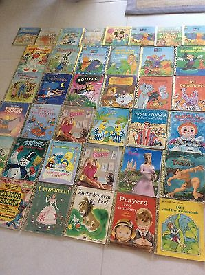 BULK LOT of LITTLE GOLDEN BOOKS 39 Books Some Shabby Condition