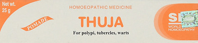 SBL Thuja Homeopathic Cream Ointment For Polypi Tubercles And Warts