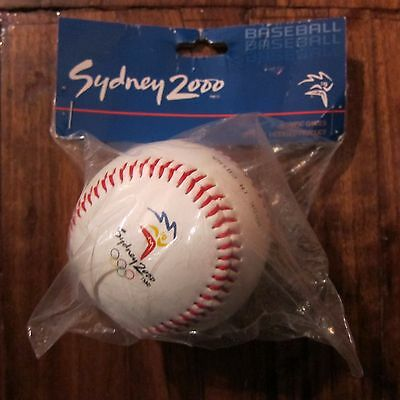 Sydney 2000 Olympic Games Official Baseball New & Sealed Rare