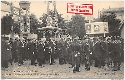 49-Angers-Inauguration Officielle De L Exposition 1906-N°R2043-G/0003