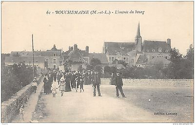49-Bouchemaine-Entree Du Bourg Animee-N°R2043-F/0119