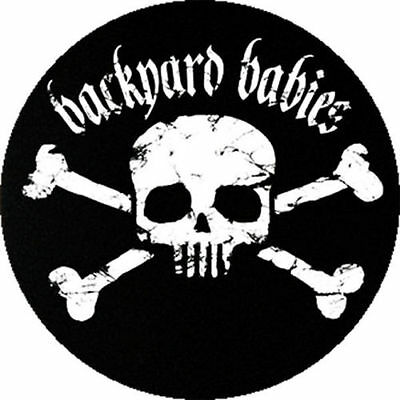 Parche imprimido, Iron on patch, /Textil sticker, Pegatina/ - Backyard Babies