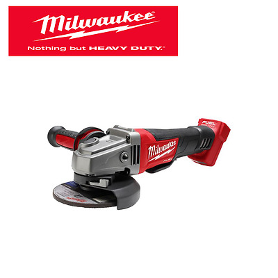 Milwaukee M18 FUEL Heavy Duty 125mm Cordless Angle Grinder M18CAG125XPD-0 BARE