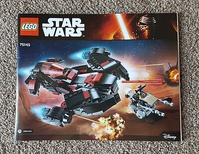 Lego Star Wars 75145 Eclipse Fighter Instruction Manual NEW