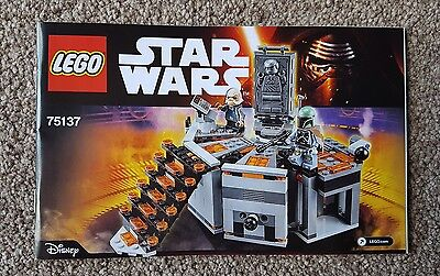 Lego Star Wars 75137 Carbon-Freezing Chamber Instruction Manual NEW