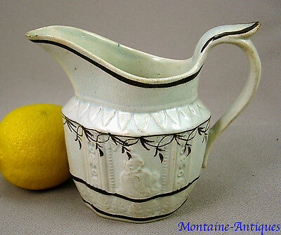 Antique Pearlware pattern mold Creamer c. 1790
