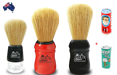 The Shave Factory  - Boar Bristle Quality Shaving Brush, Omega Rebranded