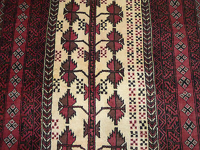 """Unusual Meshed Belouch oriental runner  ( 7ft.9"""" x 3ft.2"""", circa 1970  )"""