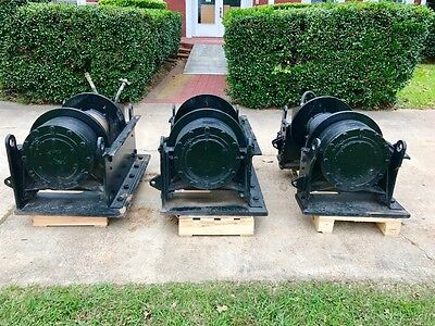 Hydraulic 50,000 - 100,000 Lb. Dp Tulsa Winch ( Pkg Of 3)!