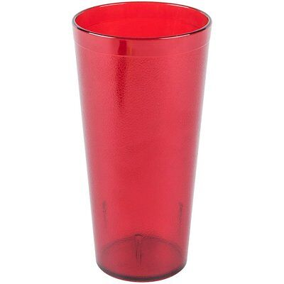 6 Pack 16 ounce Restaurant Tumbler Stackable  Commmerical Plastic Cup