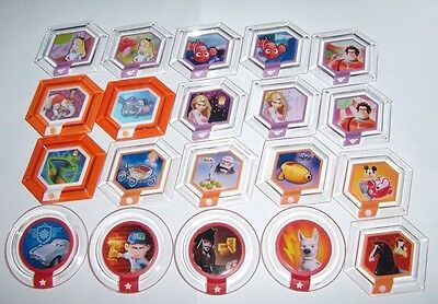 Disney Infinity Series 1 2 3 TRU Originals Marvel Power Discs Complete Your Set