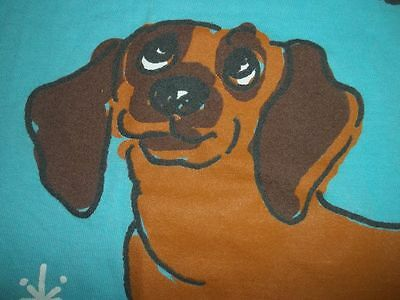 """Dachshund Night Shirt ( For People) One Size """" A Lo-O-Ong Love Affair"""" Free/ship"""