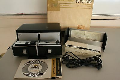 SAWYER Rotomatic Slide Projector 600a Remote Power Focus WORKING In Box