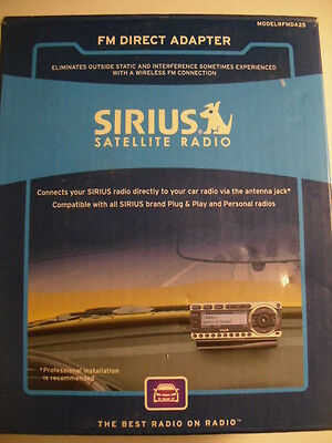 SiriusXM FMDA25 CAR Wired FM Direct Adapter Relay Kit New in Box