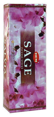 Hem Bulk Sage Incense Sticks, 120 sticks Free shipping