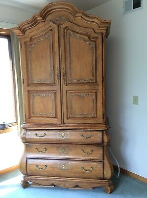 French Armoire, Ladies Dresser, Chest, King Bed