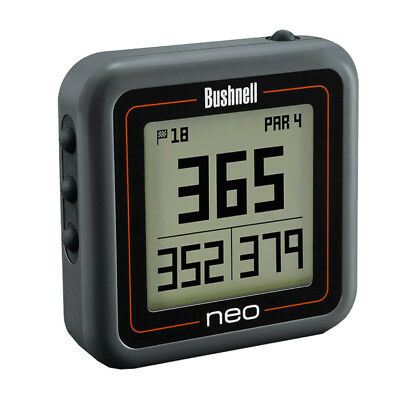 NEW Bushnell Neo Ghost Golf GPS Charcoal