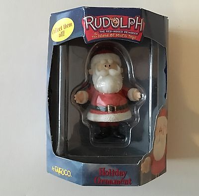 Rudolph and the Island of Misfit Toys Santa Ornament. MIB 2000 by Enesco