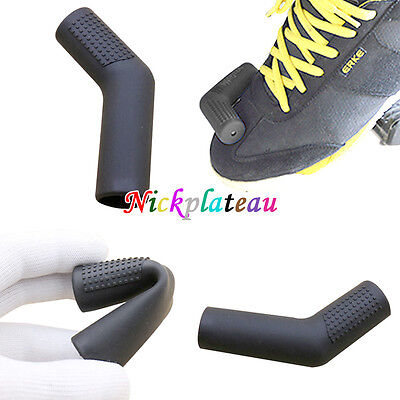 1PCS Motorcycle Rubber Shifter Sock Boot Black Shoe Protector Shift Lever Cover