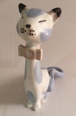 Palessi Cat Statue Blue And White Spain C
