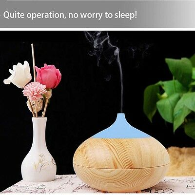 300mL Essential Oil Aroma Diffuser Ultrasonic Humidifier Air Mist Aromatherapy B