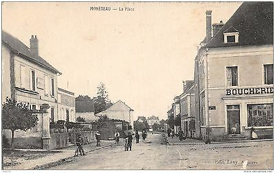 89-Moneteau-La Place-Boucherie-N°R2049-B/0393