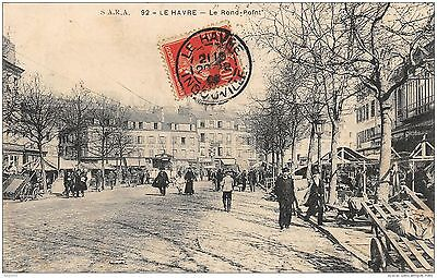 76-Le Havre-Le Rond Point-N°R2048-B/0085