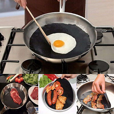 1PCS Brown Black Round Non-stick Frying Pan Liner The Best Product For Cooking