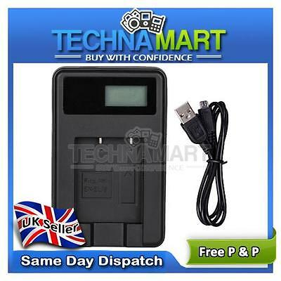 USB Travel Charger NB-6L For Canon PowerShot  Digital IXUS 95 IS 105 107 200 UK