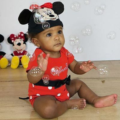 Disney Baby Minnie Mouse Bodysuit Vest 18-24 mths Toddler Babies Costume Outfit