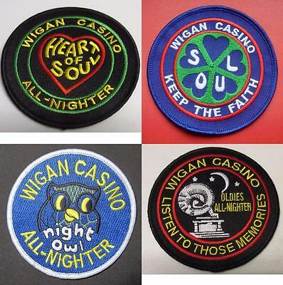Northern Soul Patch - 4 Patch Set - Wigan Casino