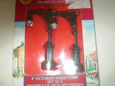 Lemax Set of 2 Victorian Street Lamps