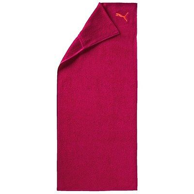 Ladies Womens Puma Rose Red Peach Training Gym Sports Towel