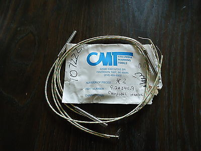 2 New Cartridge Heaters #912Aj-4D-9 By Cmt (Columbia Marking Tool)